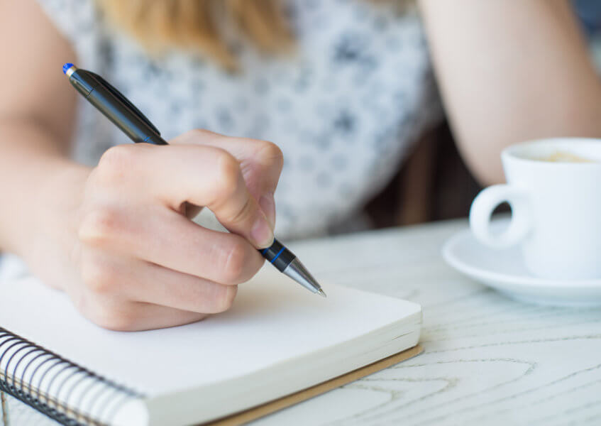 Coping with Grief: Journaling